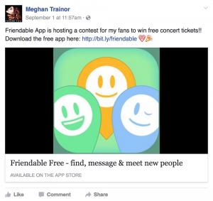 Meghan Trainor FDBL
