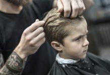 Kid Barber Head Lice