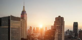 New York City Apartments Highrise Networking
