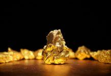 Gold Nugget Mining Beginning Underground Mine