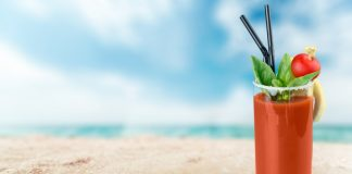 Bloody Mary Distribution Beach
